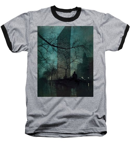 The Flatiron Building Baseball T-Shirt