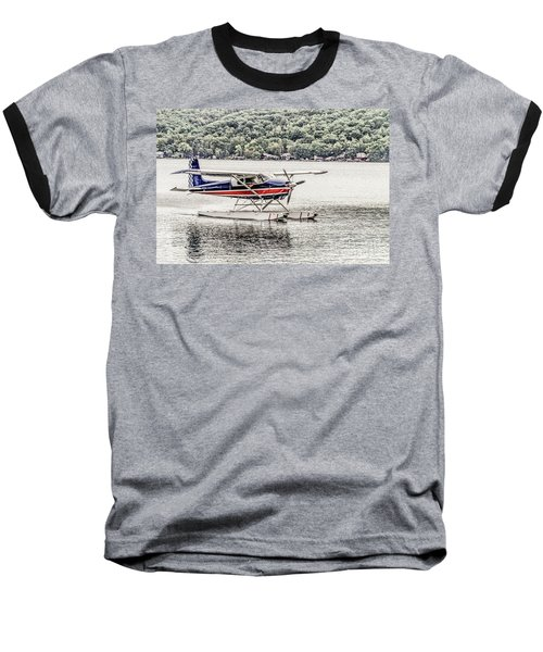 The Float Baseball T-Shirt by William Norton