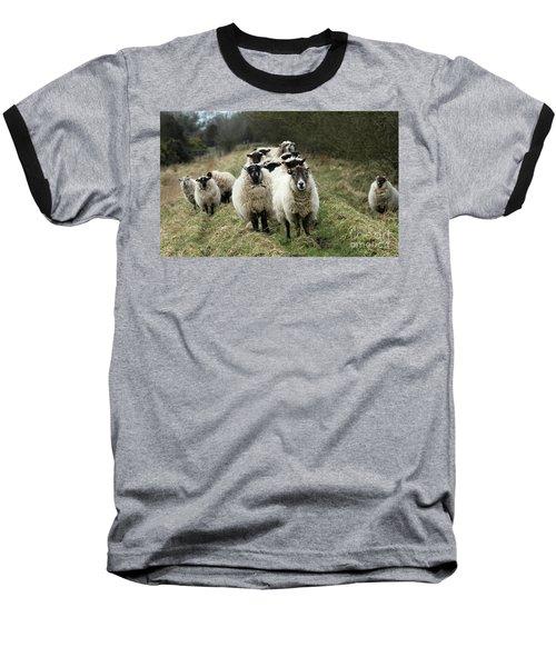 The Flock 2 Baseball T-Shirt