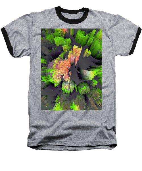 The Flower Factory 2 Baseball T-Shirt by Moustafa Al Hatter