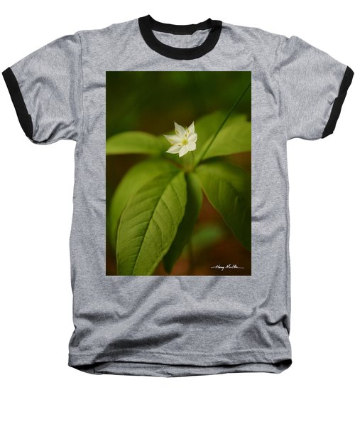 The Flower Of The Dark Woods Baseball T-Shirt