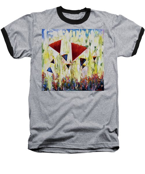 The Flower Party Baseball T-Shirt
