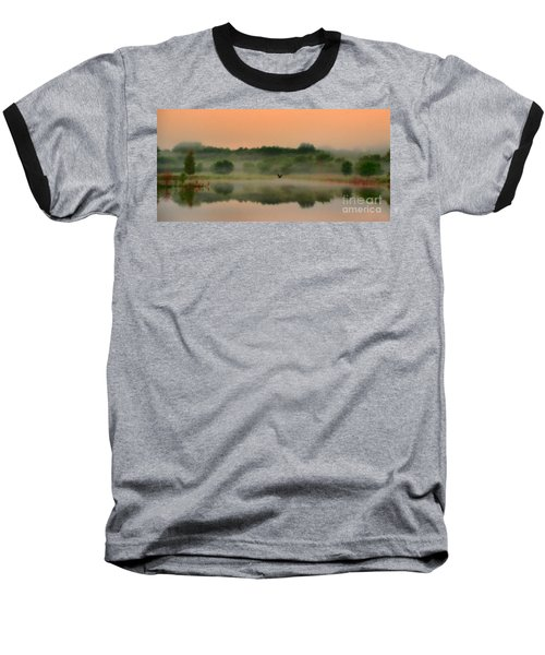 The Fog Of Summer Baseball T-Shirt by Elizabeth Winter