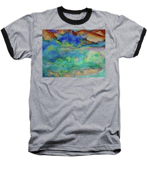 The Fog Rolls In Baseball T-Shirt by Kim Nelson