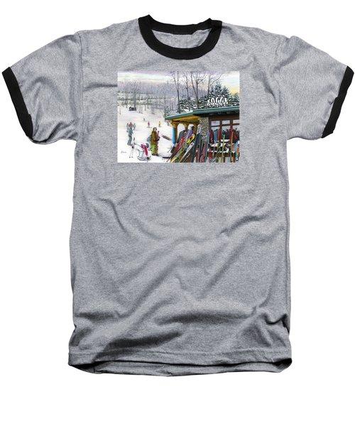The Foggy Goggle At Seven Springs Baseball T-Shirt