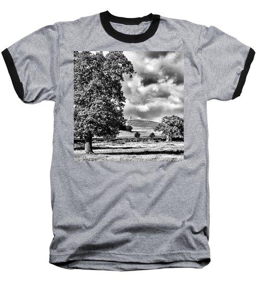 Old John Bradgate Park Baseball T-Shirt by John Edwards