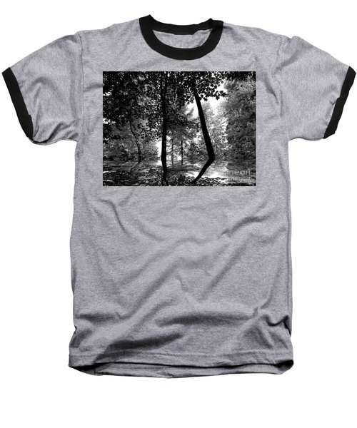 Baseball T-Shirt featuring the photograph The Forest by Elfriede Fulda