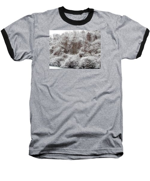 Baseball T-Shirt featuring the photograph The Forest Hush by Lynda Lehmann