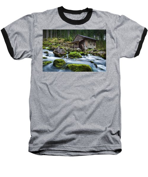 The Forgotten Mill Baseball T-Shirt by JR Photography
