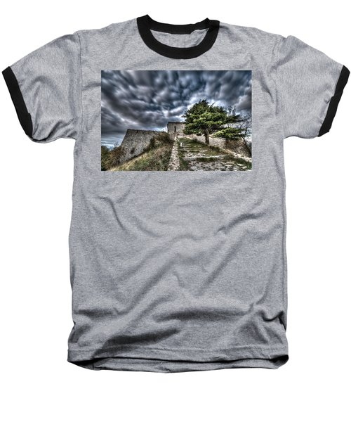 The Fortress The Tree The Clouds Baseball T-Shirt