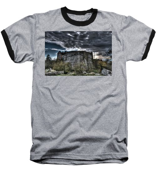 The Fortress The Trees The Clouds Baseball T-Shirt