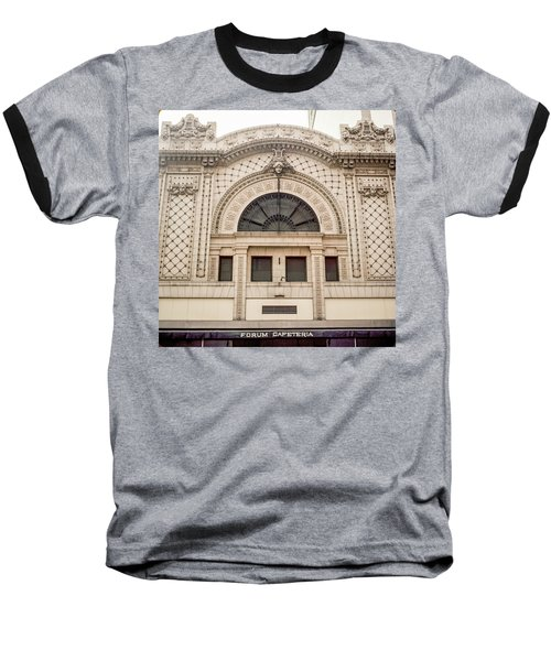 The Forum Cafeteria Facade Baseball T-Shirt