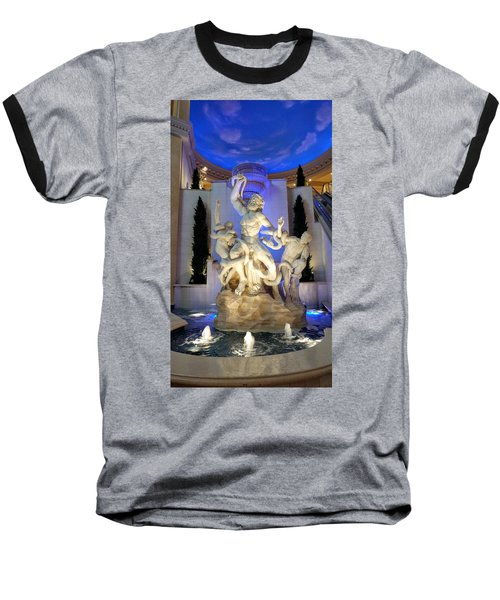 The Forum Shop Statues At Ceasars Palace Baseball T-Shirt