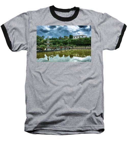 The Fountain Of The Ocean At The Boboli Gardens Baseball T-Shirt