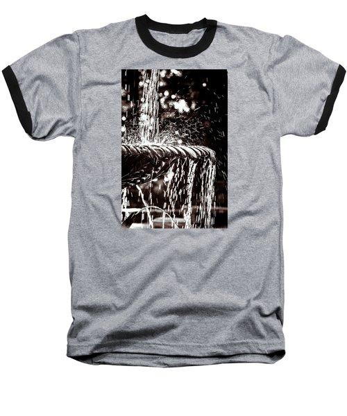 The Fountain Baseball T-Shirt by Wade Brooks