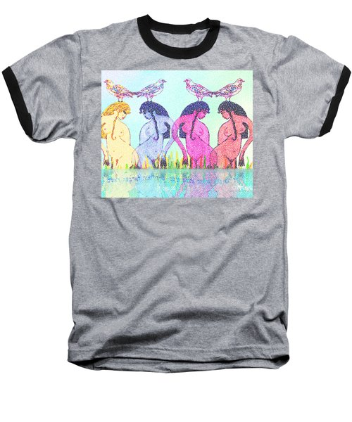 The Four Daughters Of Eve  -aka-  Four Rivers Baseball T-Shirt