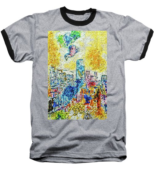 The Four Seasons Chicago Portrait Baseball T-Shirt