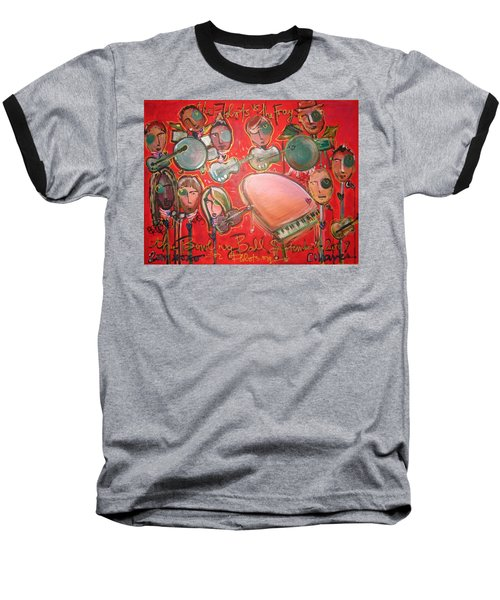 The Fray And The Flobots Baseball T-Shirt
