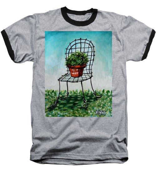 The French Garden Cafe Chair Baseball T-Shirt
