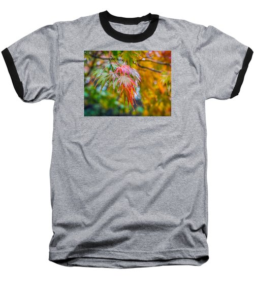 The Freshness Of Fall Baseball T-Shirt by Ken Stanback