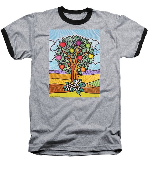 The Fruit Of The Spirit Tree Baseball T-Shirt