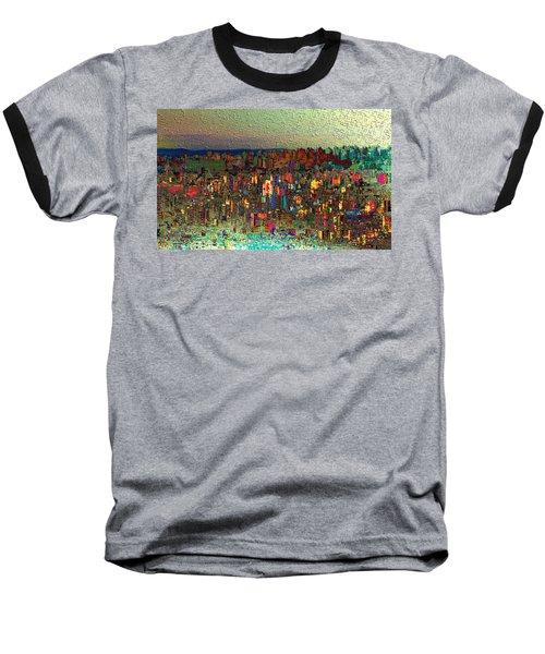 The Fun Side Of Town Baseball T-Shirt