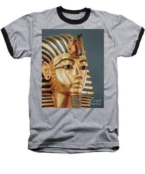 The Funerary Mask Of Tutankhamun Baseball T-Shirt