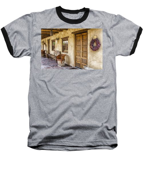 The Gage Hotel Baseball T-Shirt by Kathy Adams Clark
