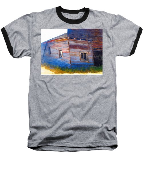 Baseball T-Shirt featuring the photograph The Garage by Susan Kinney