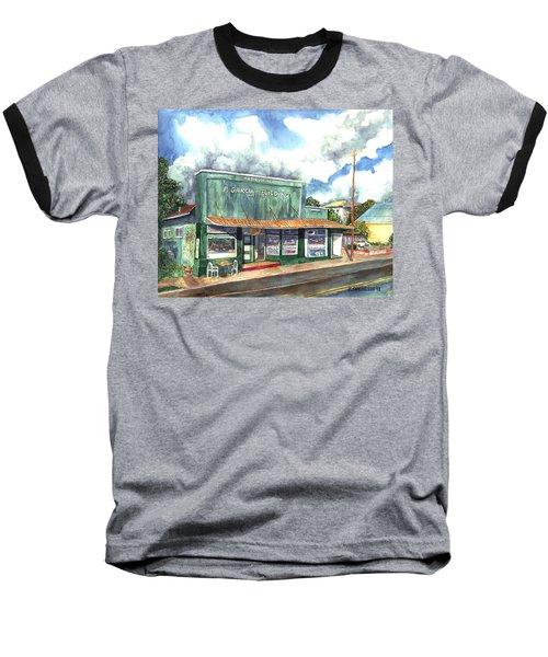 The Garcia Building Baseball T-Shirt