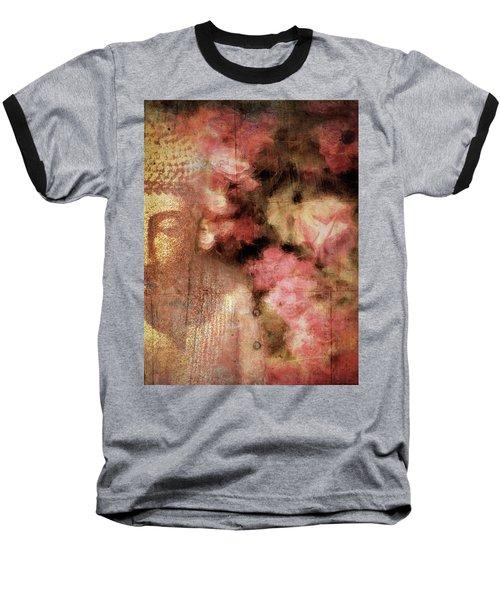 The Garden Buddha 1 Baseball T-Shirt