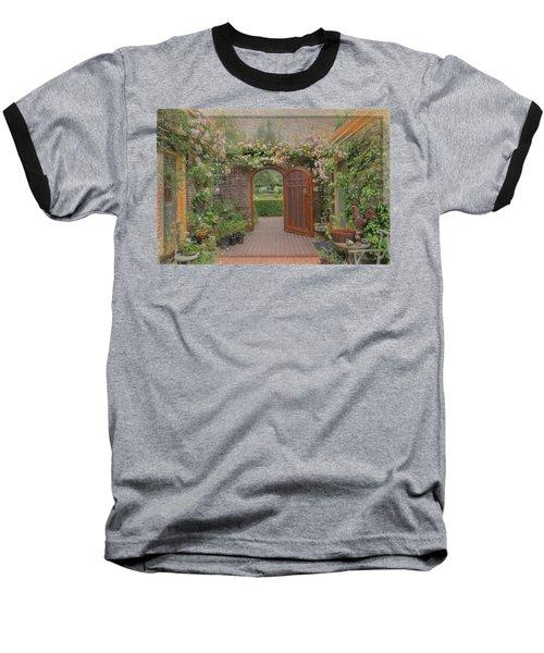 The Garden Door Baseball T-Shirt