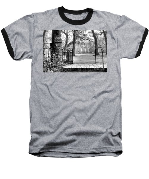 The Gates Of The Old Sheldon Church Baseball T-Shirt