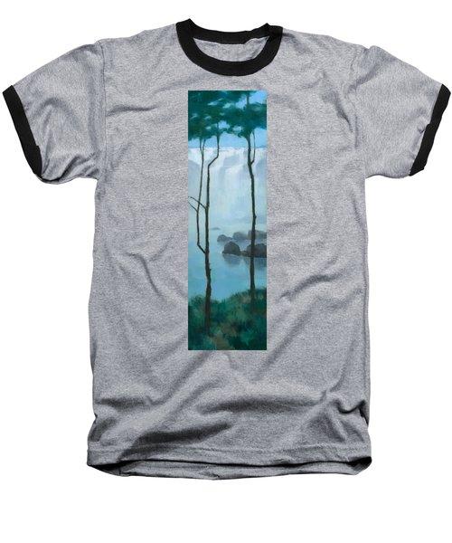 The Gathering Iguazu Falls Baseball T-Shirt by Steve Mitchell