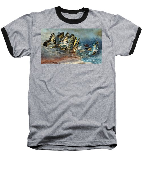 The Gathering Baseball T-Shirt by Kathy Russell