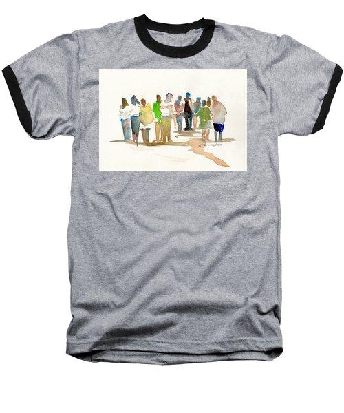 The Gathering Baseball T-Shirt by P Anthony Visco