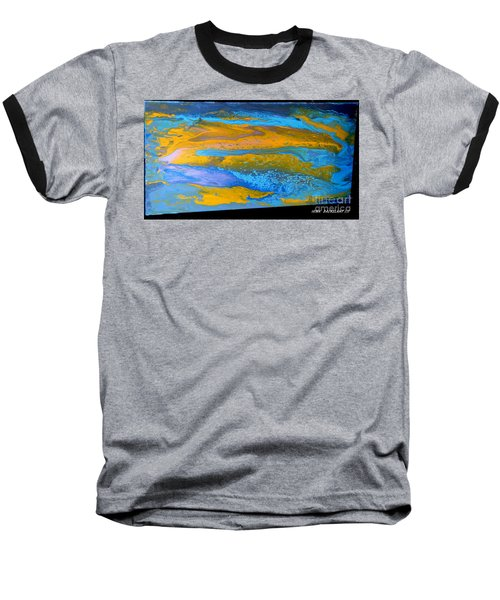 the GATOR in abstracr Baseball T-Shirt