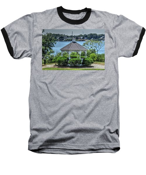 Baseball T-Shirt featuring the photograph The Gazebo by Tom Prendergast