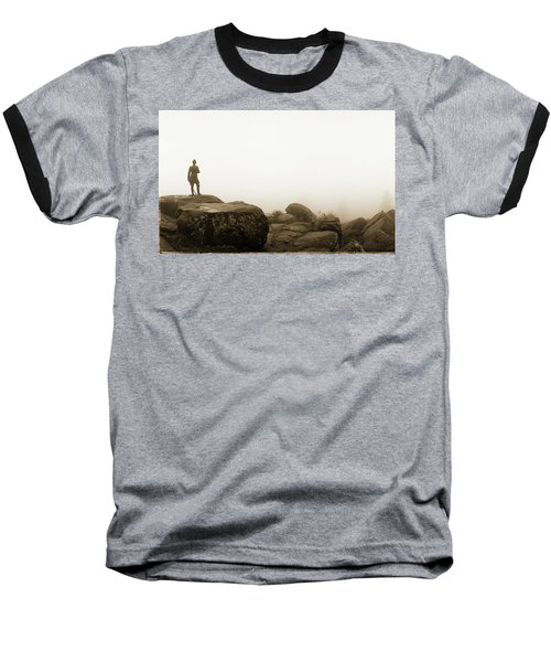 The General's View Baseball T-Shirt by Jan W Faul