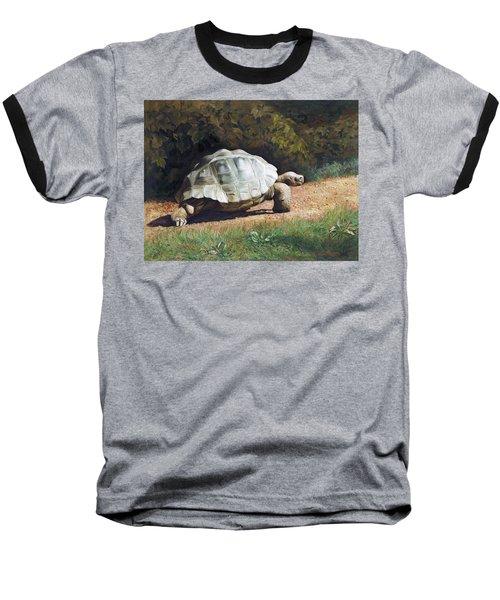 The Giant Tortoise Is Walking Baseball T-Shirt