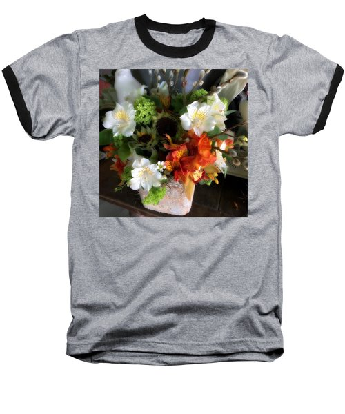 The Gift Of Giving Baseball T-Shirt by Peggy Stokes