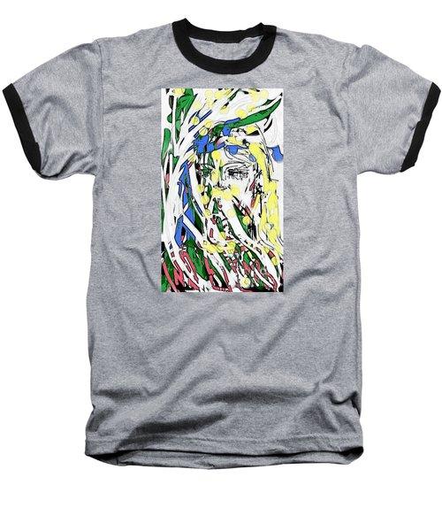 The Girl In Full Bloom Baseball T-Shirt