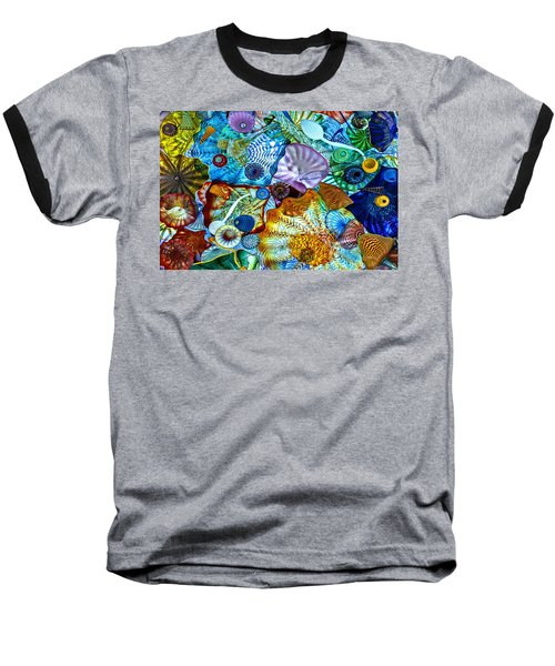 The Glass Ceiling Baseball T-Shirt