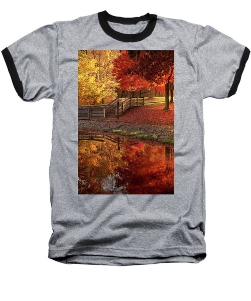 The Glory Of Autumn Baseball T-Shirt