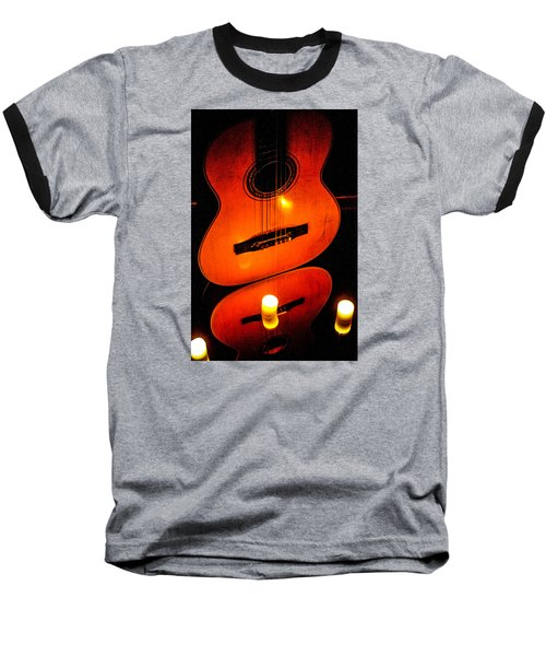 The Glow Of Music  Baseball T-Shirt