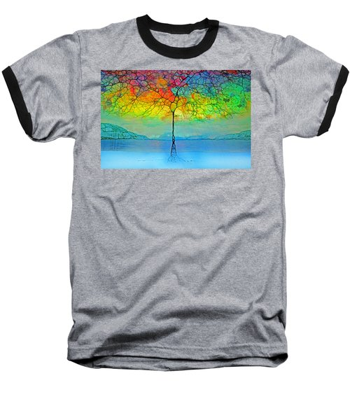 The Glow Tree Baseball T-Shirt