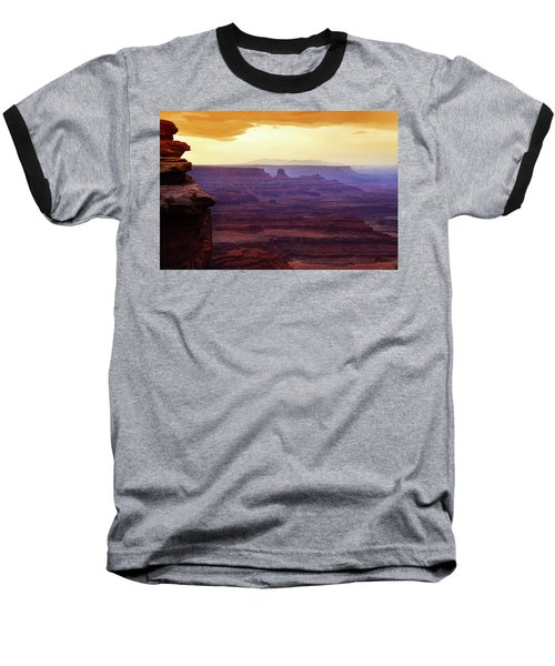 The Gold Light Of Dawn Baseball T-Shirt