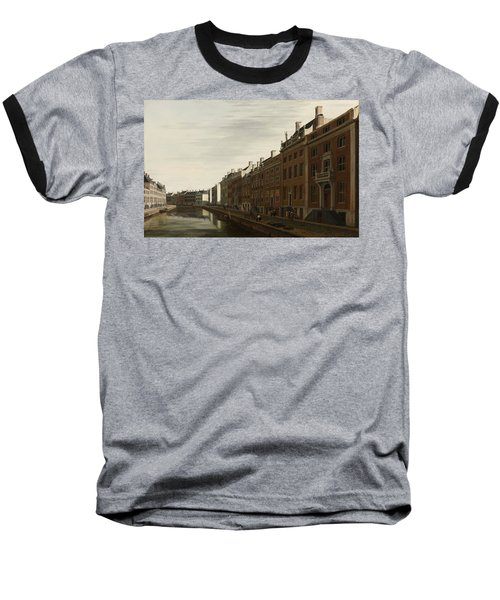 The Golden Bend In The Herengracht, Amsterdam, Seen From The West, 1672 Baseball T-Shirt