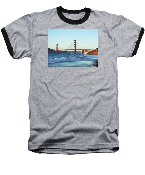 The Golden Gate Bridge Baseball T-Shirt