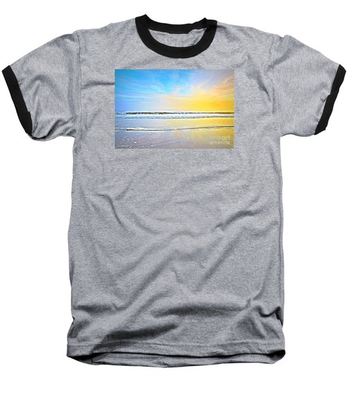 Baseball T-Shirt featuring the photograph The Golden Hour by Shelia Kempf
